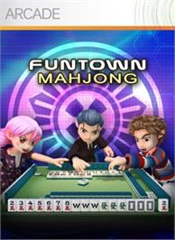 Box cover for FunTown Mahjong on the Microsoft Xbox Live Arcade.