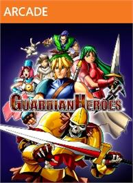 Box cover for GUARDIAN HEROES (TM) on the Microsoft Xbox Live Arcade.