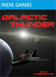 Box cover for Galactic Thunder on the Microsoft Xbox Live Arcade.