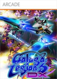 Box cover for Galaga Legions DX on the Microsoft Xbox Live Arcade.