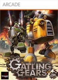 Box cover for Gatling Gears on the Microsoft Xbox Live Arcade.