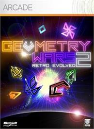 Box cover for Geometry Wars Evolved² on the Microsoft Xbox Live Arcade.