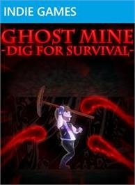 Box cover for Ghost Mine: Dig for Survival on the Microsoft Xbox Live Arcade.