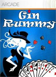 Box cover for Gin Rummy on the Microsoft Xbox Live Arcade.
