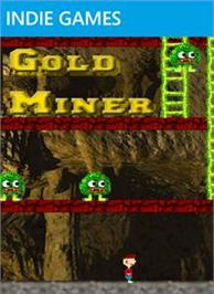 Box cover for Gold Miner on the Microsoft Xbox Live Arcade.