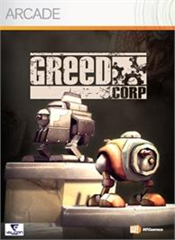 Box cover for Greed Corp on the Microsoft Xbox Live Arcade.