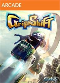 Box cover for GripShift on the Microsoft Xbox Live Arcade.
