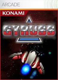 Box cover for Gyruss on the Microsoft Xbox Live Arcade.