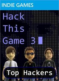 Box cover for Hack This Game 3 on the Microsoft Xbox Live Arcade.