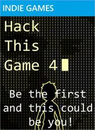 Box cover for Hack This Game 4 on the Microsoft Xbox Live Arcade.