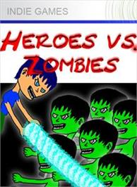 Box cover for Heroes vs. Zombies on the Microsoft Xbox Live Arcade.