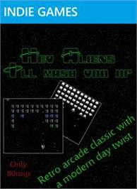 Box cover for Hey Aliens: Ill Mash You Up! on the Microsoft Xbox Live Arcade.
