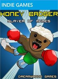 Box cover for Honey Badger - Slayer of Memes on the Microsoft Xbox Live Arcade.