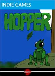 Box cover for Hopper on the Microsoft Xbox Live Arcade.