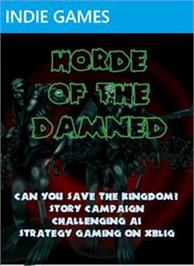 Box cover for Horde of the Damned on the Microsoft Xbox Live Arcade.