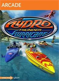 Box cover for Hydro Thunder on the Microsoft Xbox Live Arcade.