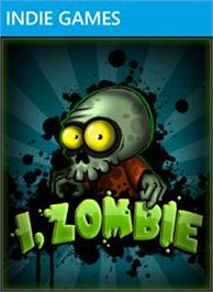 Box cover for I, Zombie on the Microsoft Xbox Live Arcade.