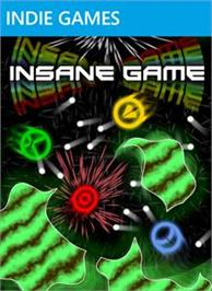 Box cover for Insane Game on the Microsoft Xbox Live Arcade.