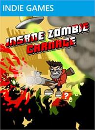 Box cover for Insane Zombie Carnage on the Microsoft Xbox Live Arcade.