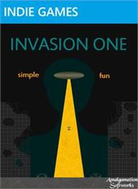Box cover for Invasion One on the Microsoft Xbox Live Arcade.