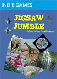 Box cover for Jigsaw Jumble on the Microsoft Xbox Live Arcade.