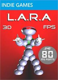 Box cover for L.A.R.A on the Microsoft Xbox Live Arcade.
