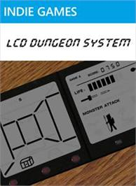 Box cover for LCD Dungeon System on the Microsoft Xbox Live Arcade.