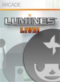 Box cover for LUMINES LIVE! on the Microsoft Xbox Live Arcade.