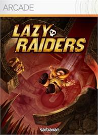 Box cover for Lazy Raiders on the Microsoft Xbox Live Arcade.