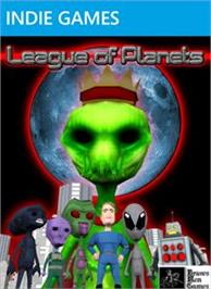 Box cover for League of Planets on the Microsoft Xbox Live Arcade.