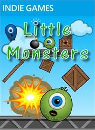 Box cover for Little Monsters on the Microsoft Xbox Live Arcade.