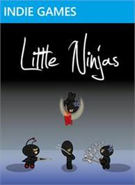 Box cover for Little Ninjas on the Microsoft Xbox Live Arcade.