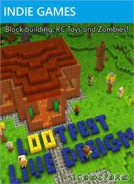 Box cover for Lootfest: Live Design on the Microsoft Xbox Live Arcade.