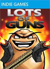 Box cover for Lots of Guns on the Microsoft Xbox Live Arcade.