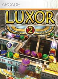 Box cover for Luxor 2 on the Microsoft Xbox Live Arcade.
