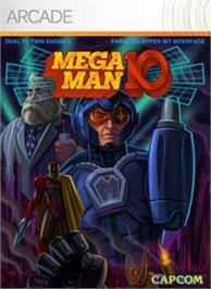 Box cover for MEGA MAN 10 on the Microsoft Xbox Live Arcade.