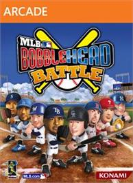 Box cover for MLB® Bobblehead Battle on the Microsoft Xbox Live Arcade.