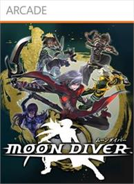 Box cover for MOON DIVER on the Microsoft Xbox Live Arcade.
