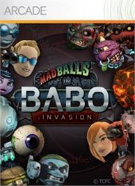 Box cover for Madballs Babo:Invasion on the Microsoft Xbox Live Arcade.