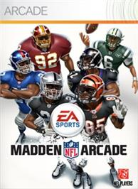 Box cover for Madden NFL Arcade on the Microsoft Xbox Live Arcade.