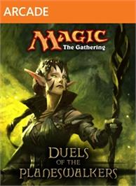 Box cover for Magic: The Gathering on the Microsoft Xbox Live Arcade.
