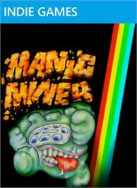 Box cover for Manic Miner 360 on the Microsoft Xbox Live Arcade.