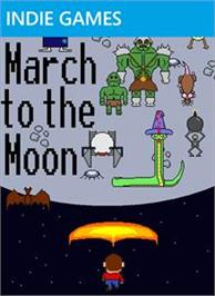 Box cover for March to the Moon on the Microsoft Xbox Live Arcade.