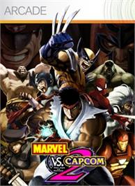 Box cover for Marvel vs. Capcom 2 on the Microsoft Xbox Live Arcade.
