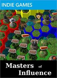 Box cover for Masters of Influence on the Microsoft Xbox Live Arcade.