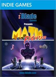 Box cover for Math Fighter on the Microsoft Xbox Live Arcade.