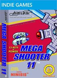 Box cover for Mega Shooter 11 on the Microsoft Xbox Live Arcade.