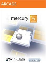 Box cover for Mercury Hg on the Microsoft Xbox Live Arcade.