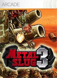 Box cover for Metal Slug 3 on the Microsoft Xbox Live Arcade.