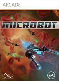 Box cover for MicroBot on the Microsoft Xbox Live Arcade.